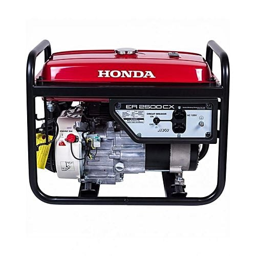 Honda ER2500CX – Petrol and Gas Generator – 2.2 KVA – Red & Black
