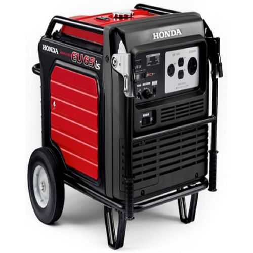 Honda Generator in Black & Red EU 65is