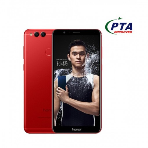 Honor 7X 64GB Dual Sim Red - Official Warranty