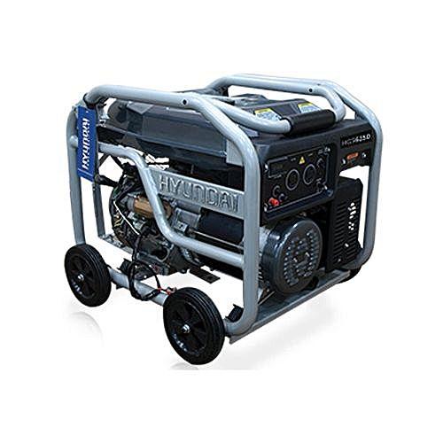 HYUNDAI HGS3500 Generator – 3.5 KVA – Black & Silver