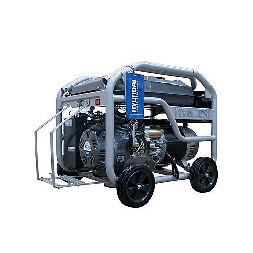 HYUNDAI HGS6250 – Petrol Generator 5.5 KVA – Silver