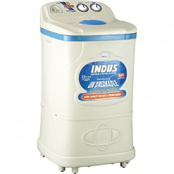 Indus Washing Machine Plastic Body 360-White