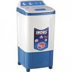 Indus Washing Machine Plastic bodyWhite & Blue