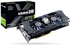 Inno3D Nvidia GeForce GTX 1080 Twin X2