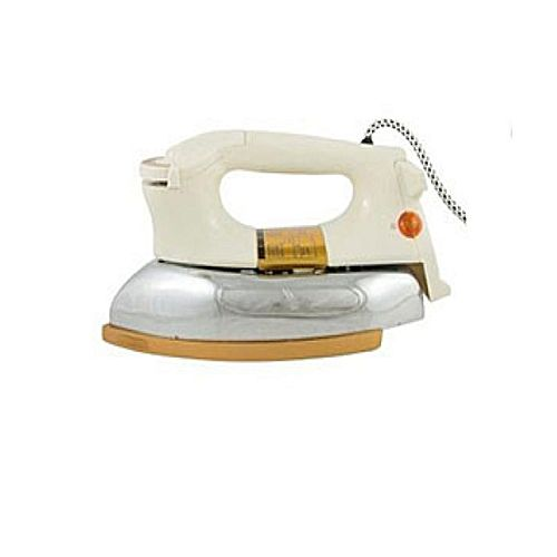 Jack Pot Jack Pot Jack Pot Jack Pot Jack Pot Jp-719Dry Iron Automatic Heavy Weight With Teflon Coating White
