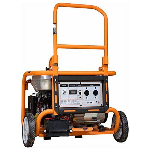 JASCO FG2200 – Gas and Petrol Generator with Gas Kit – 1.5 KVA – Orange