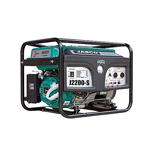 JASCO J-2200 – Self Start Petrol & Gas Generator – 2.0 KVA With Gas Kit