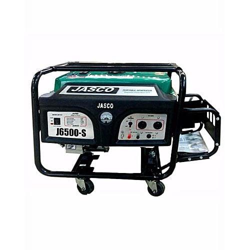 JASCO J-6500 6.5 Kva Self Start Petrol & Gas Generator With Gas Kit