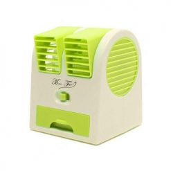 KBR USB Battery Mini Turbine Dual Purpose Fan