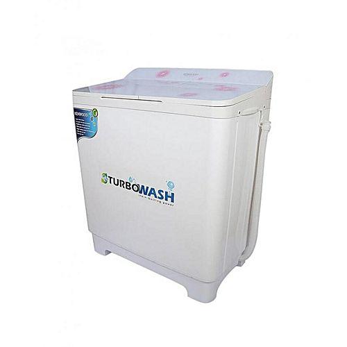 Kenwood KWM1016 Semi Automatic Washing Machine White