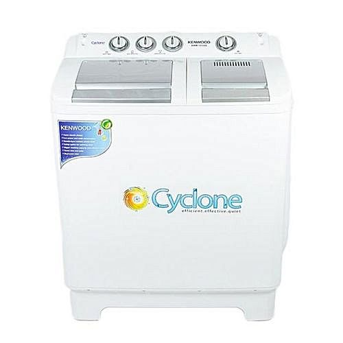 Kenwood Semi Automatic Washing Machine White KWM1010