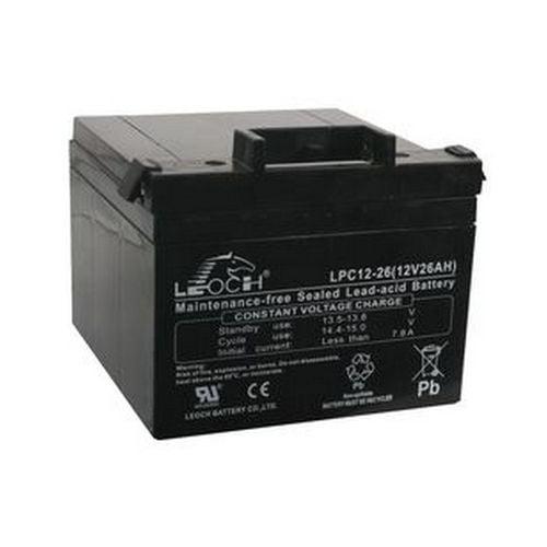 Leoch Battery in Black Gray