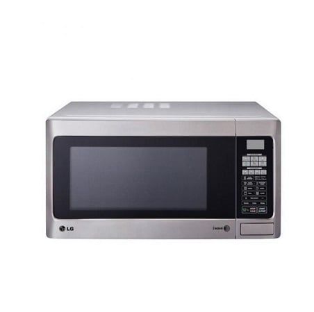 LG Microwave Oven in Silver