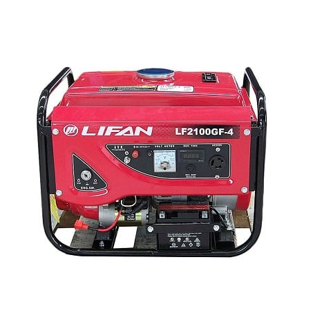 Lifan 1.2KW Electric Start Petrol & Gas Generator LF2100GF-4