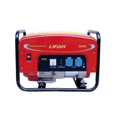 Lifan 2.7 KW Recoil Start Petrol & Gas Generator LF3500GF-3
