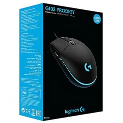Logitech G102 PRODIGY Gaming Mouse (Black: 910-004846)