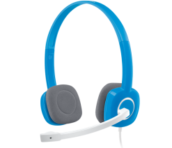 Logitech H150 Headphone Blue