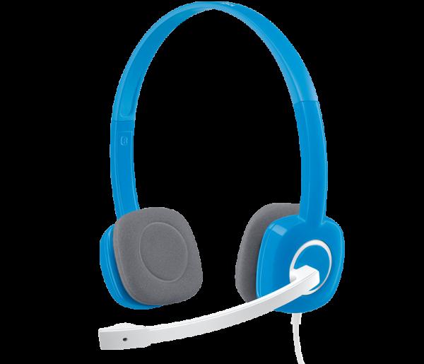 Logitech H150 Headphone Blue