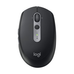 Logitech M590 Multi-Device Silent Wireless Mouse, 910-005203 Graphite Tonal