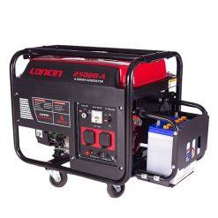 Loncin 1.3 kW Petrol & Gas Generator LC2500DA – Electric Start – Red