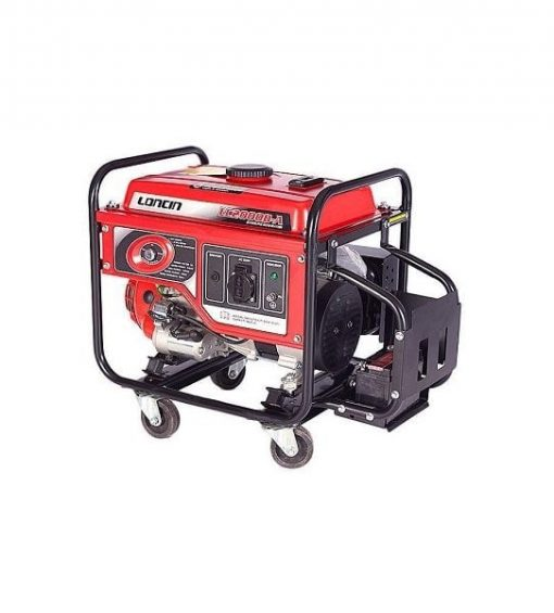 Loncin 1 kW Petrol & Gas Generator LC2000DA Electric Start – Red