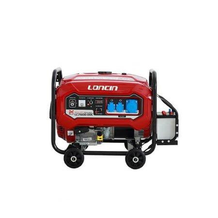 Loncin 5.5 kW Petrol & Gas Generator LC7600DDC