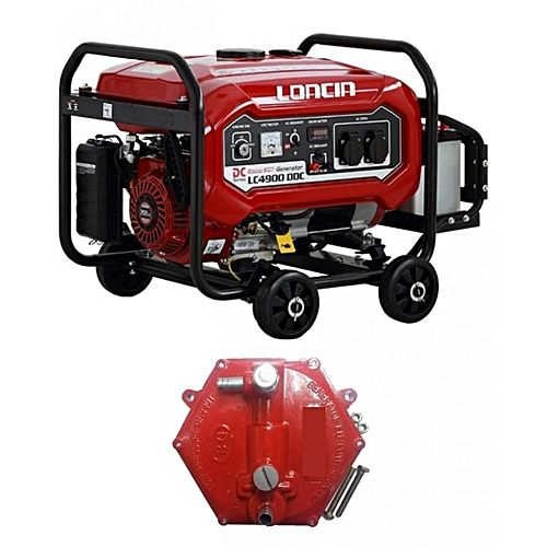 Loncin LC4900DDC – Petrol & Gas Generator – 3.1 KW – with Gas Kit