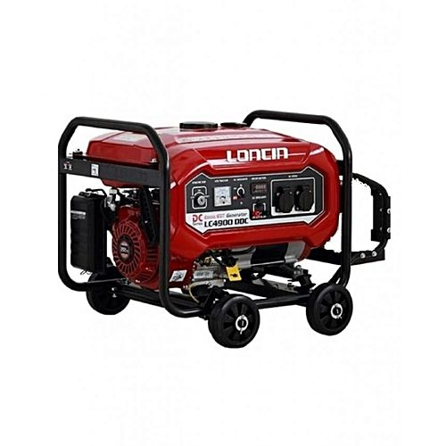 Loncin LC4900DDC – Petrol & Gas Generator – 3.1 kW – with Wheels Kit