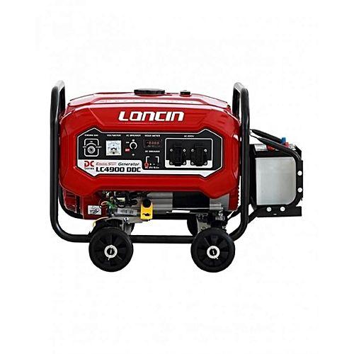 Loncin LC4900DDC – Petrol Generator – 3.1 kW – with Wheels Kit