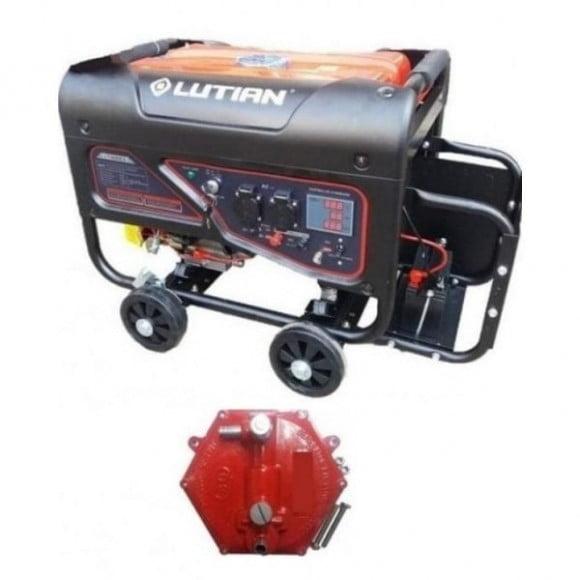 Lutian 2.8 kW Self Start Petrol & Gas Generator LT3600ES