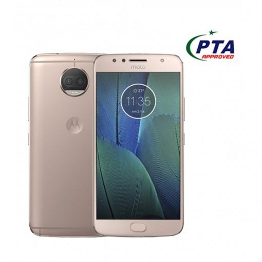 Motorola Moto G5s Plus 32GB Dual Sim Fine Gold (Xt1805) - Official Warranty
