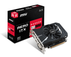 MSI Radeon RX560 Aero ITX 4GB OC