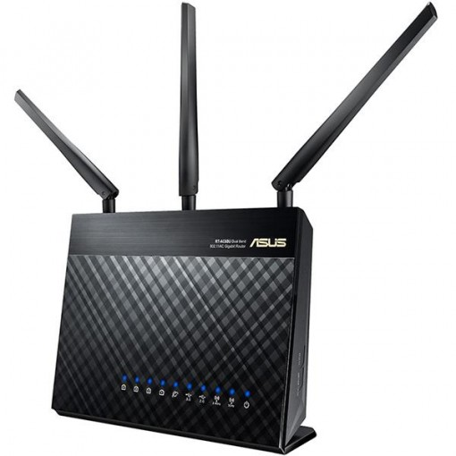 ASUS RT-AC68U Wireless-AC1900 Dual Band Gigabit Router IEEE 802.11ac, IEEE 802.11a/b/g/n
