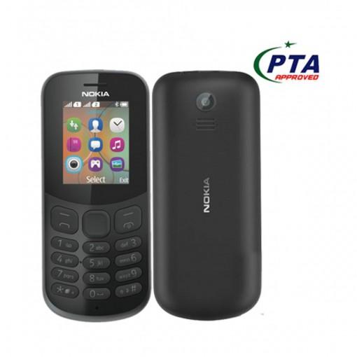 Nokia 130 2017 Dual Sim Black - Official Warranty