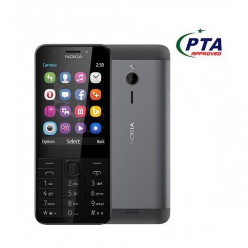 Nokia 230 Dual Sim Black - Official Warranty