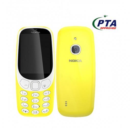 Nokia 3310 3G Dual Sim Yellow - Official Warranty