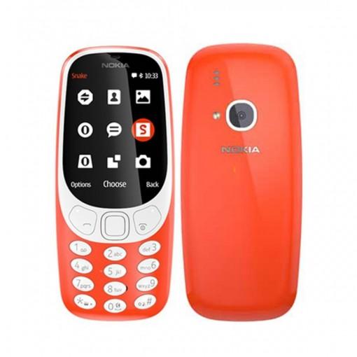 Nokia 3310 Dual SIM Red - Official Warranty