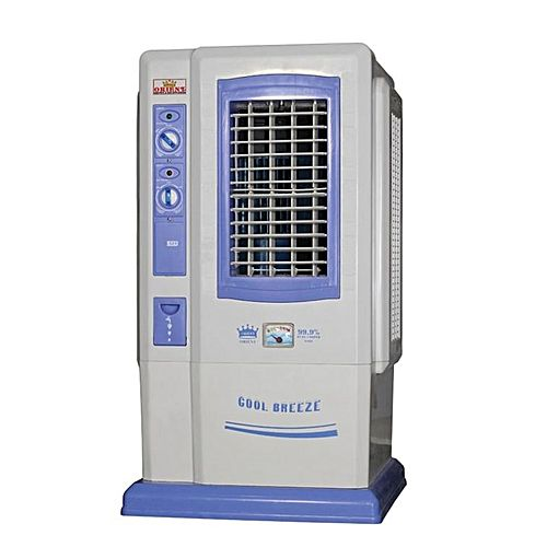 Orient Appliances 525 – Room Air Cooler – Tower – Ice Box – White Blue