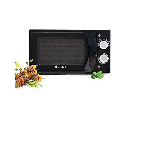 Orient Appliances Microwave Oven Mint 20M Solo Black 700Watt ha297