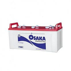 Osaka Batteries Platinum P180 S 21 Plates Acid Battery White