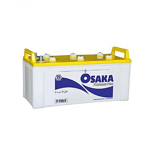 Osaka Batteries PLATINUM P225S 25 Plates Acid Battery White