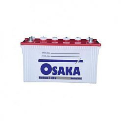 Osaka Batteries PLATINUM T125 S 15 Plates Acid Battery White