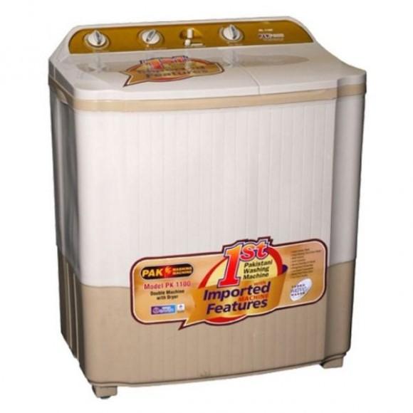 Pak Fan Twin Tub Washing Machine with Dryer PK-1100