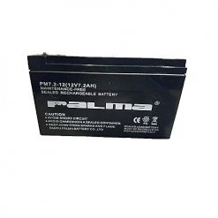 Palma Maintenance Free Battery 12v7.2AH Black