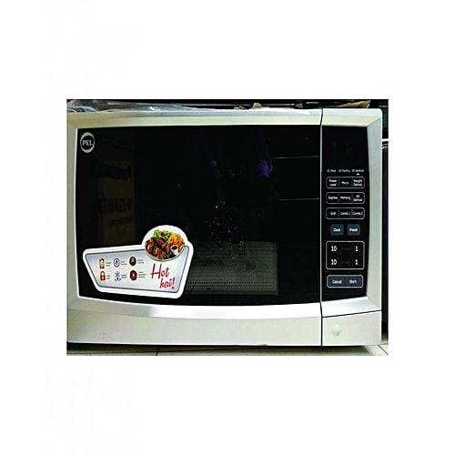 PEL Microwave Oven, 30BG, Digital, Grill Silver