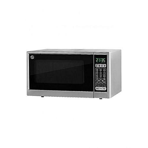 PEL PMO30sl Grill & Solo Microwave Oven 30Liter Silver