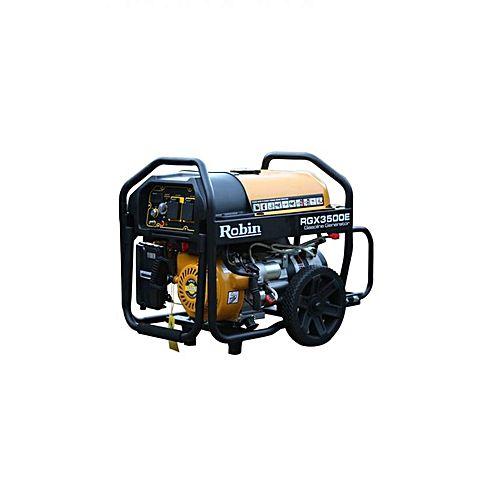 Robin RGX 3500E – Japanese Brand Generator – 3.5 KVA – Yellow & Black