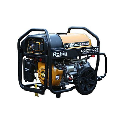 Robin RGX 7500E – Japanese Generator – 7.5 KVA – Yellow & Black