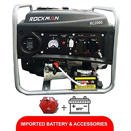 Rockman RC2000(Natural Gas &Petrol Generator) 1.5KVA
