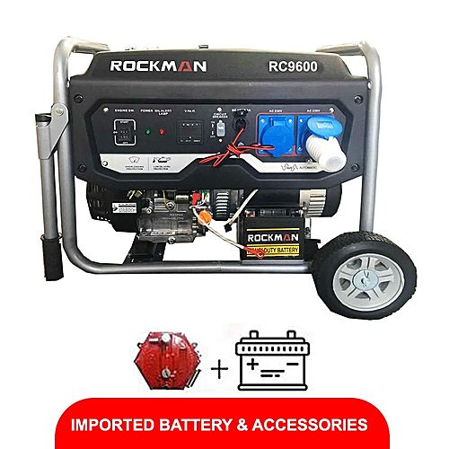 Rockman RC9600(Natural Gas &Petrol Generator) 8.0KVA